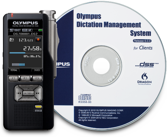 Olympus Dictation Management System - Product Image